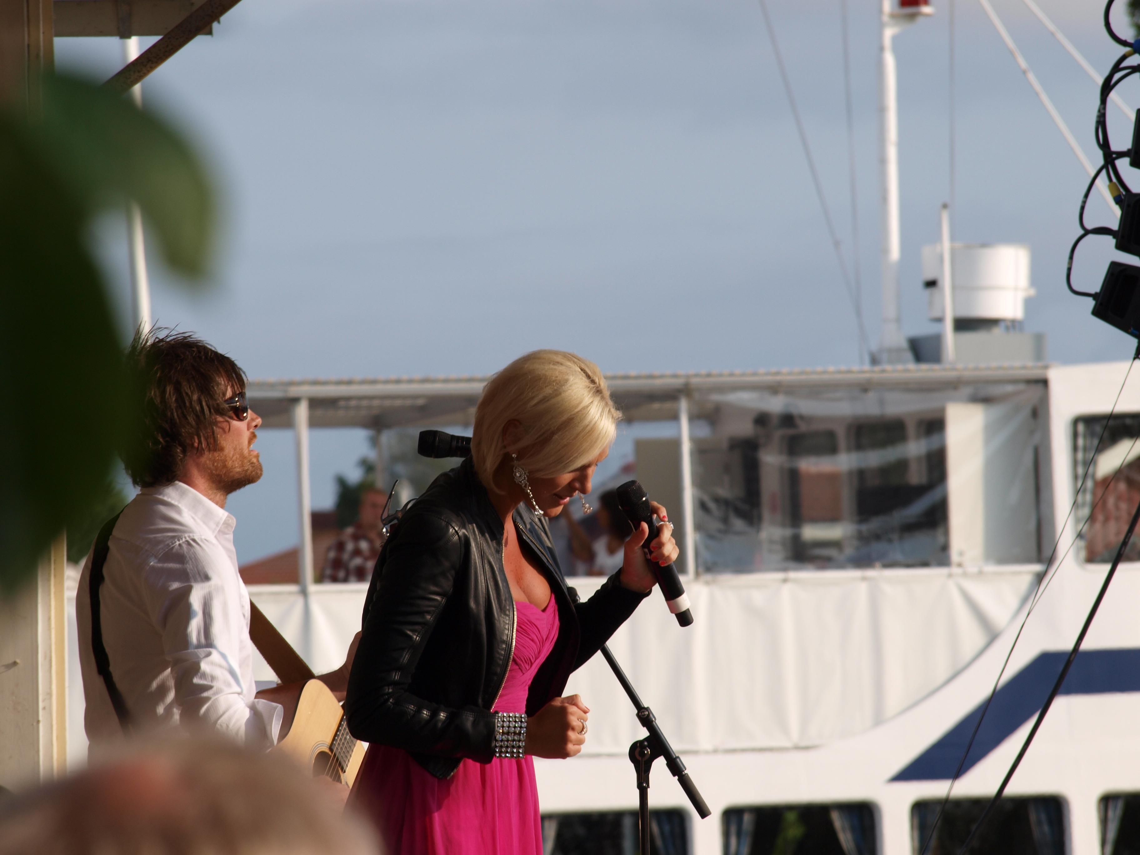 1 juli 2011 Sanna Nielsen